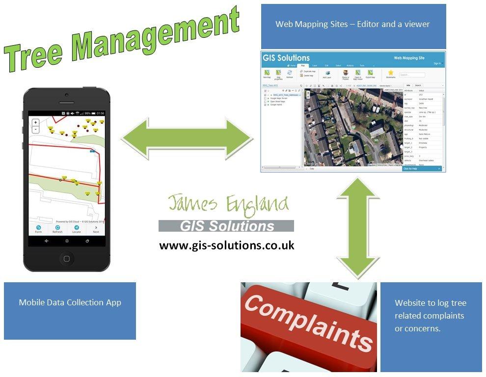 Mobile App for Tree Surveys | Tree Survey app | GIS Solutions